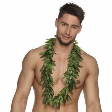 Vintage 6x hawaii kransen slingers cannabis blaadjes
