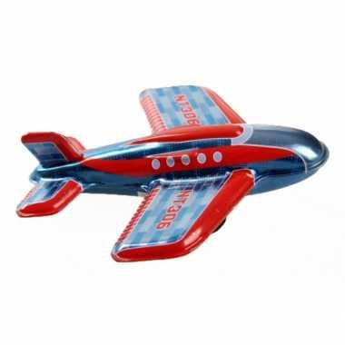 Vintage blikken vliegtuigje nt306 11 cm