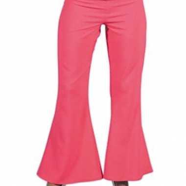 Vintage dames hippie broek roze