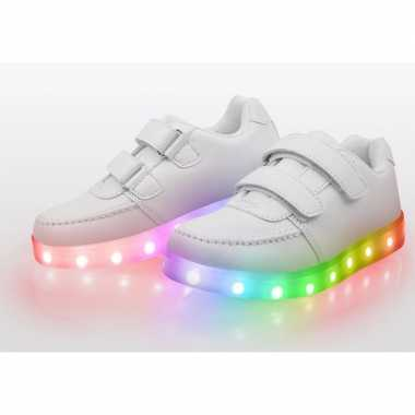 Vintage disco led kinderschoenen maat 25
