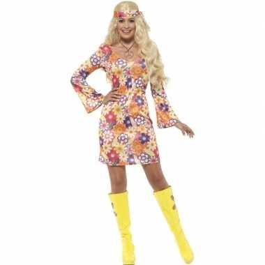 Vintage flower power hippie dames sixties kostuum