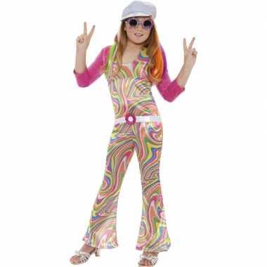 Vintage groovy kostuum voor meisjes