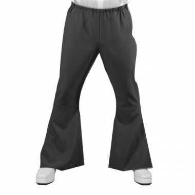 Vintage heren hippie broek zwart