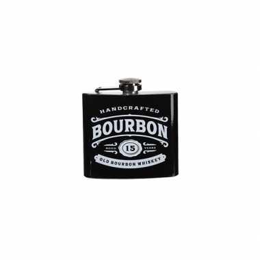 Vintage heupfles bourbon 150 ml