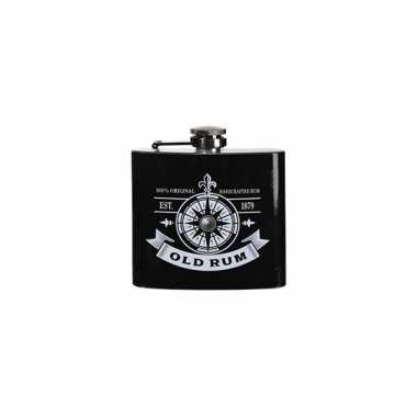 Vintage heupfles rum 150 ml