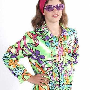 Vintage hippie blouse peace kids