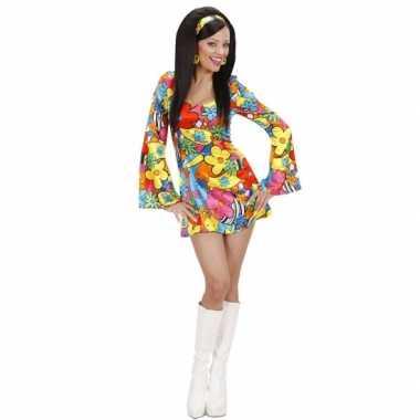 Vintage hippie jurkje met bloemen