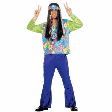 Vintage hippie kostuum voor heren