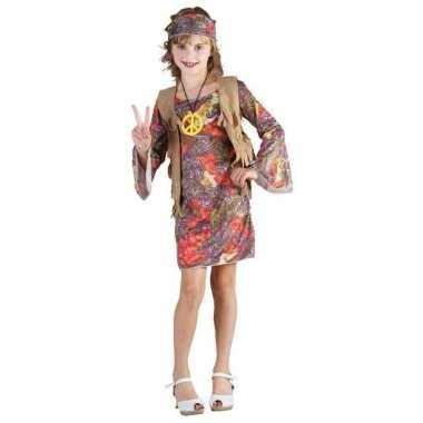 Vintage hippie kostuum voor meisjes