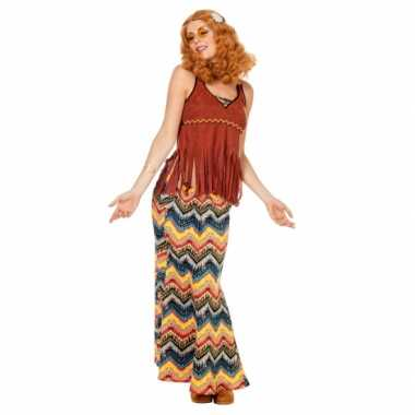 Vintage hippie outfit voor dames