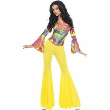 Vintage jaren 60/70/hippie kostuum voor dames