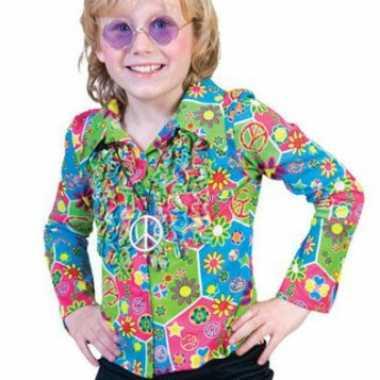 Vintage jaren 60 hippie blouse voor kinderen