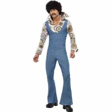 Vintage jaren 70 seventies disco kostuum voor heren