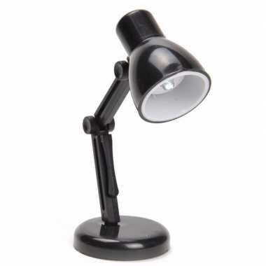 Vintage led leeslampje retro zwart