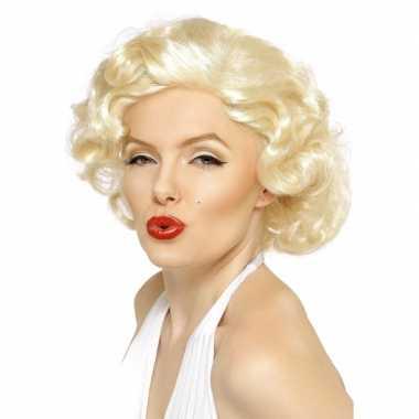 Vintage marilyn monroe pruik blond