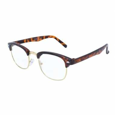 Vintage nerd feest bril voor volwassenen
