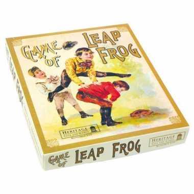 Vintage oudhollandse spelletjes kikkersprong