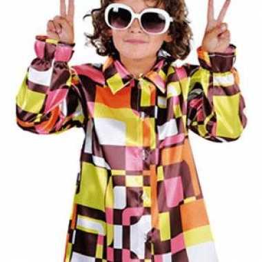 Vintage retro 70s blouse voor kinderen