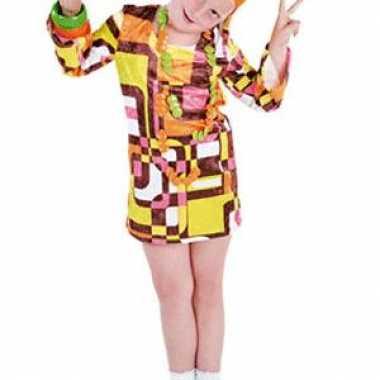 Vintage retro 70s jurkje voor meiden