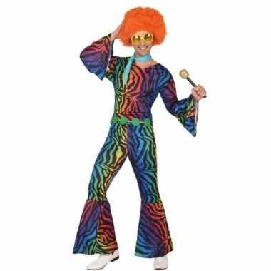 Vintage seventies/disco verkleedkleding voor heren