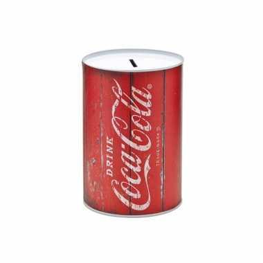Vintage spaarpot coca cola retro