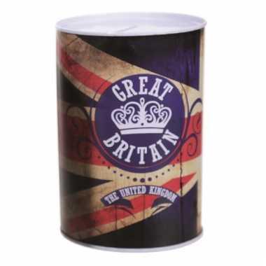 Vintage spaarpot great britain