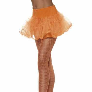 Vintage tule petticoat oranje