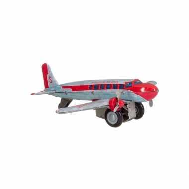 Vintage vliegtuigje dc 3 25 cm