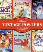 Cartoon kalender 2021 the disney vintage collection