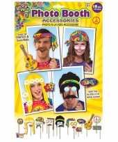 Vintage 18x foto props hippie feestje