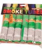 Vintage bengaalse fakkels groen 6 stuks 45 60 sec