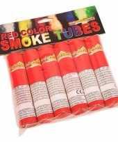 Vintage bengaalse fakkels rood 6 stuks 45 60 sec