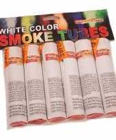 Vintage bengaalse fakkels wit 6 stuks 45 60 sec