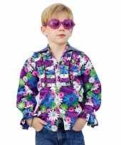 Vintage disco blouse voor kinderen