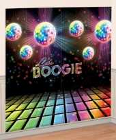 Vintage disco boogie scene setter 165 x 82 5 cm