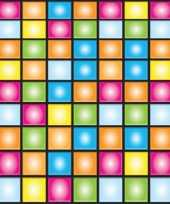 Vintage disco scenesetter gekleurd 9 meter