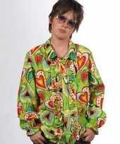 Vintage hippie blouse met rouches voor kids