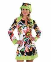Vintage hippie sixties jurk dames