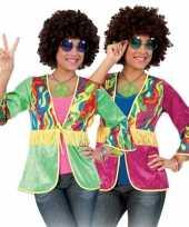 Vintage hippie vestje dames