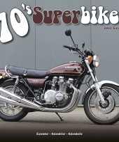 Vintage motor kalender 2021 70s superbikes