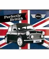 Vintage muurplaatje mini 30 x 40 cm