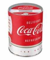 Vintage spaarpot coca cola
